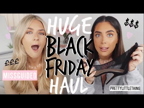 BLACK FRIDAY HAUL! £££ | ad | Sophia and Cinzia