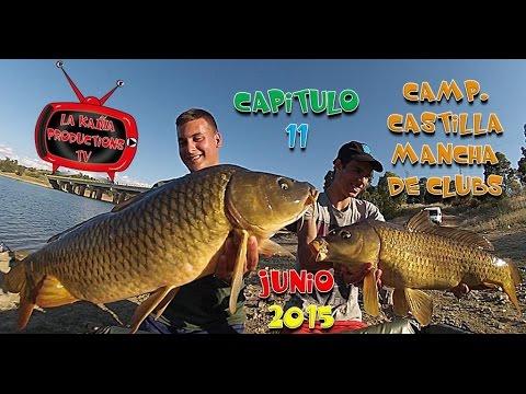 CAMP. CLUBS CASTILLA MANCHA CARPFISHING en HD