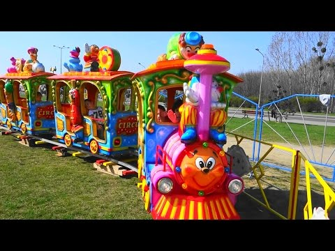 Baby Train Toy Ride Games for kids