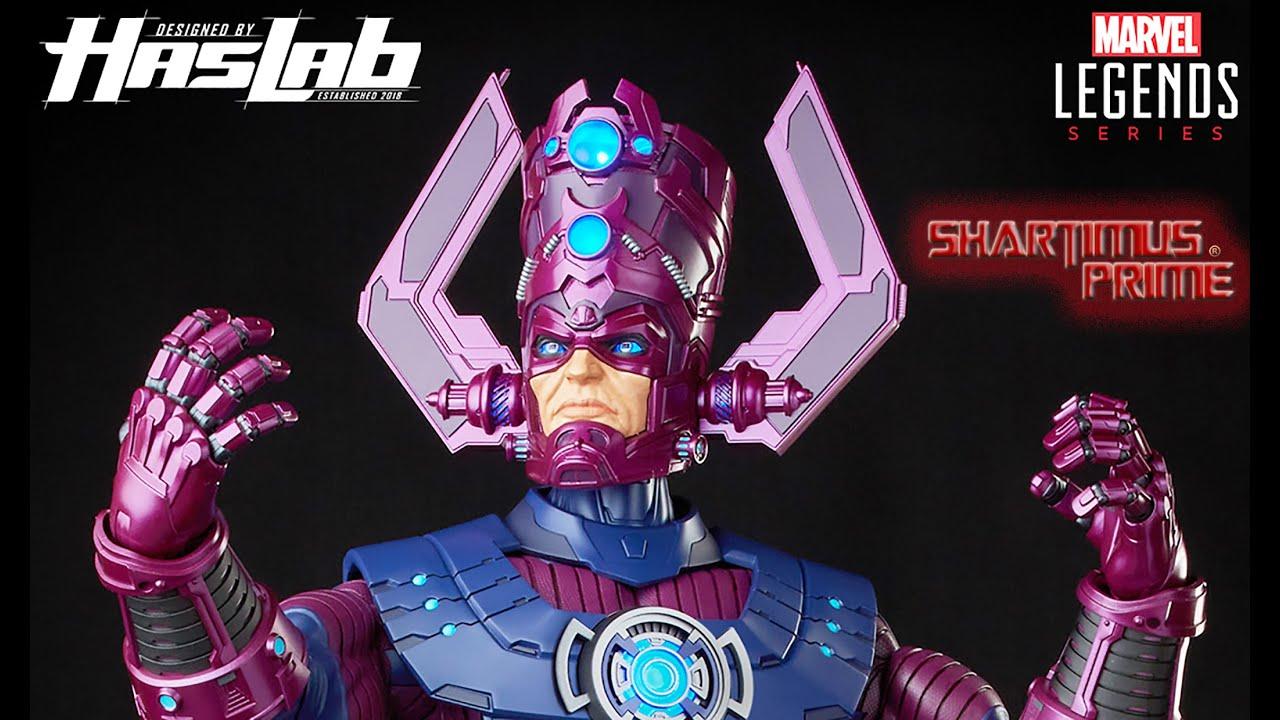 Marvel Legends Haslab Galactus 32 Inch Hasbro Fantastic Four Comic Action Figure Revealed