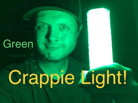 Using A Light For Summer Crappie