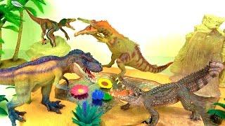 Learn Dinosaurs - Learn Dinosaur Names - Kids Toys - Dinosaur Facts