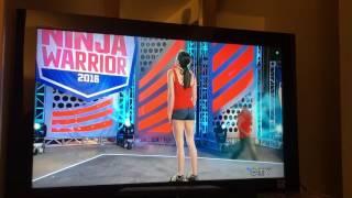 Kacy Catanzaro falls!!! (American Ninja Warrior 2016)