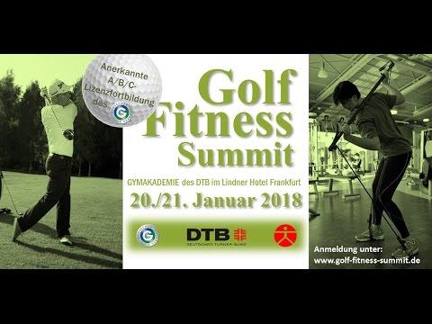 Der 2. Golf Fitness Summit 2018 | #GolfAthletik ist dabei