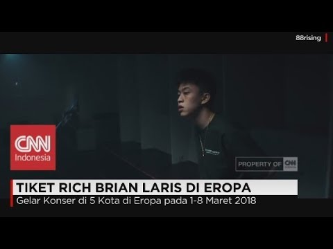Wow! Tiket Konser Rich Brian (Rapper Asal Indonesia) Laris di Eropa