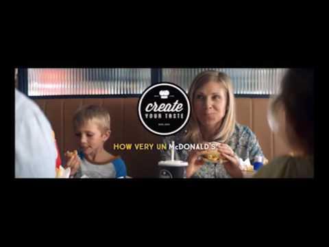 "AMB220 Campaign Analysis - McDonald's Australia ""How very Un McDonald's"" campaign"