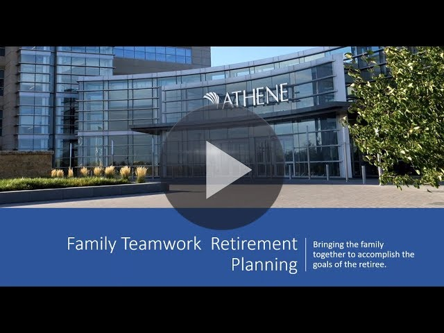 Athene - Family Teamwork Retirement Planning