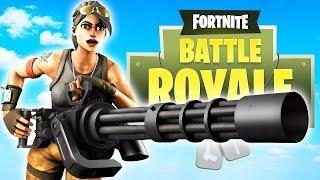 NEW Minigun Weapon is INSANE!! // Top Fortnite Player 9,000+ Kills // Fortnite Battle Royale Update