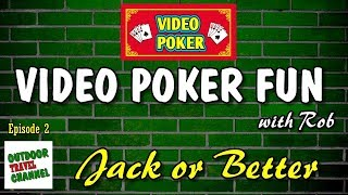 Video Poker Fun, 🃏 Jacks or Better Poker, with Rob