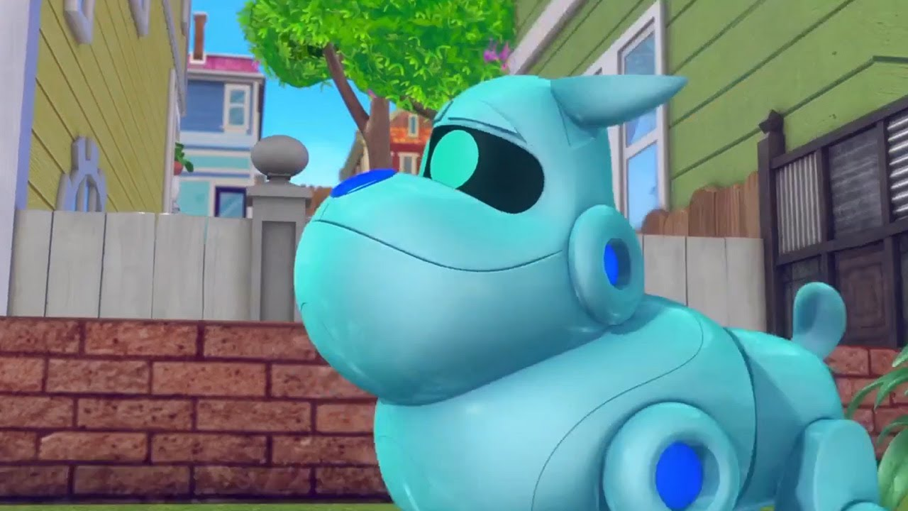 Arf Gives Bingo And Rolly A Ride Puppy Dog Pals New Disney 2017