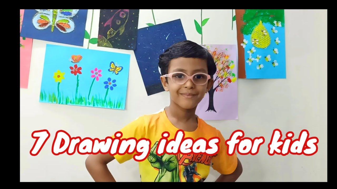 Creative Drawing Ideas for Kids | Educational Drawing Activities