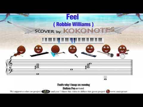 Feel (Robbie Williams) - Karaoke & Score / Cover by Kokonotes