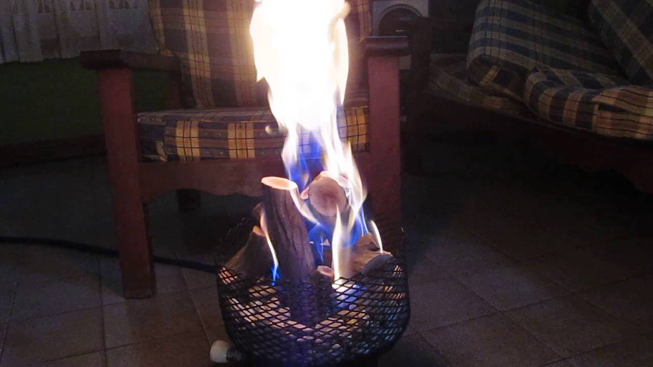 estufa hogar o fogon a gas natural youtube