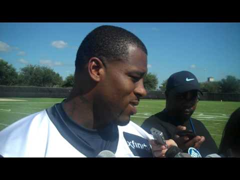 Lawrence Vickers on Being the Newest Texans Fullback