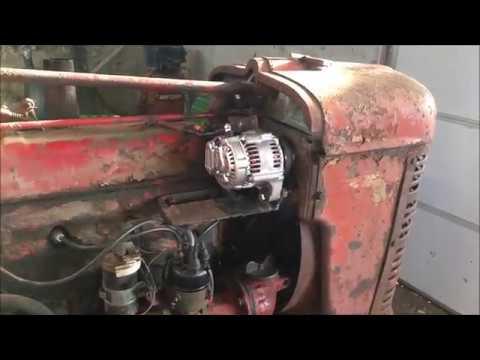 6 to 12 volt wiring on farmall tractors farmall h 12 volt conversion youtube  farmall h 12 volt conversion youtube