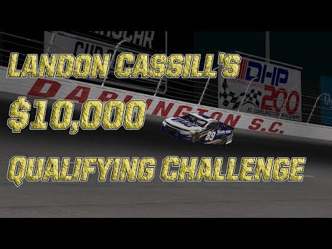 Landon Cassill's $10,000 Qualifying Challenge
