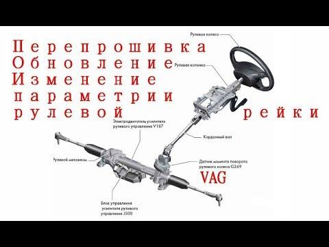Прошивка рулевой рейки VAG