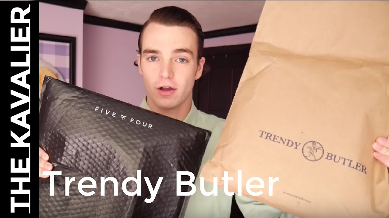my first trendy butler box vs five four club unboxing and review youtube. Black Bedroom Furniture Sets. Home Design Ideas