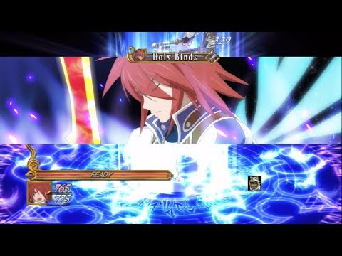 Kratos Combos Tales Of Symphonia Chronicles Youtube