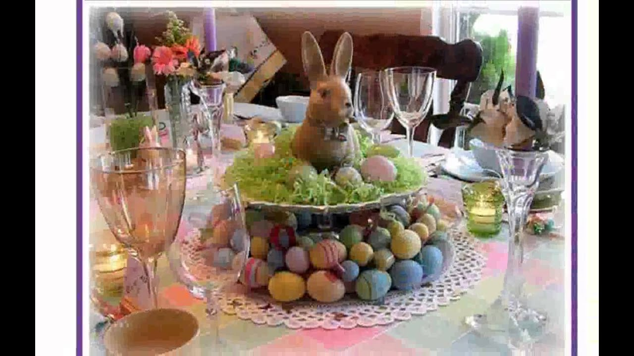 Easter decorations for the home youtube for Easter decorations ideas for the home