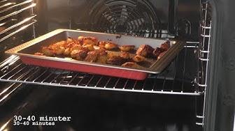 Ugnsrostad potatis med örter - Crispy roast potatoes