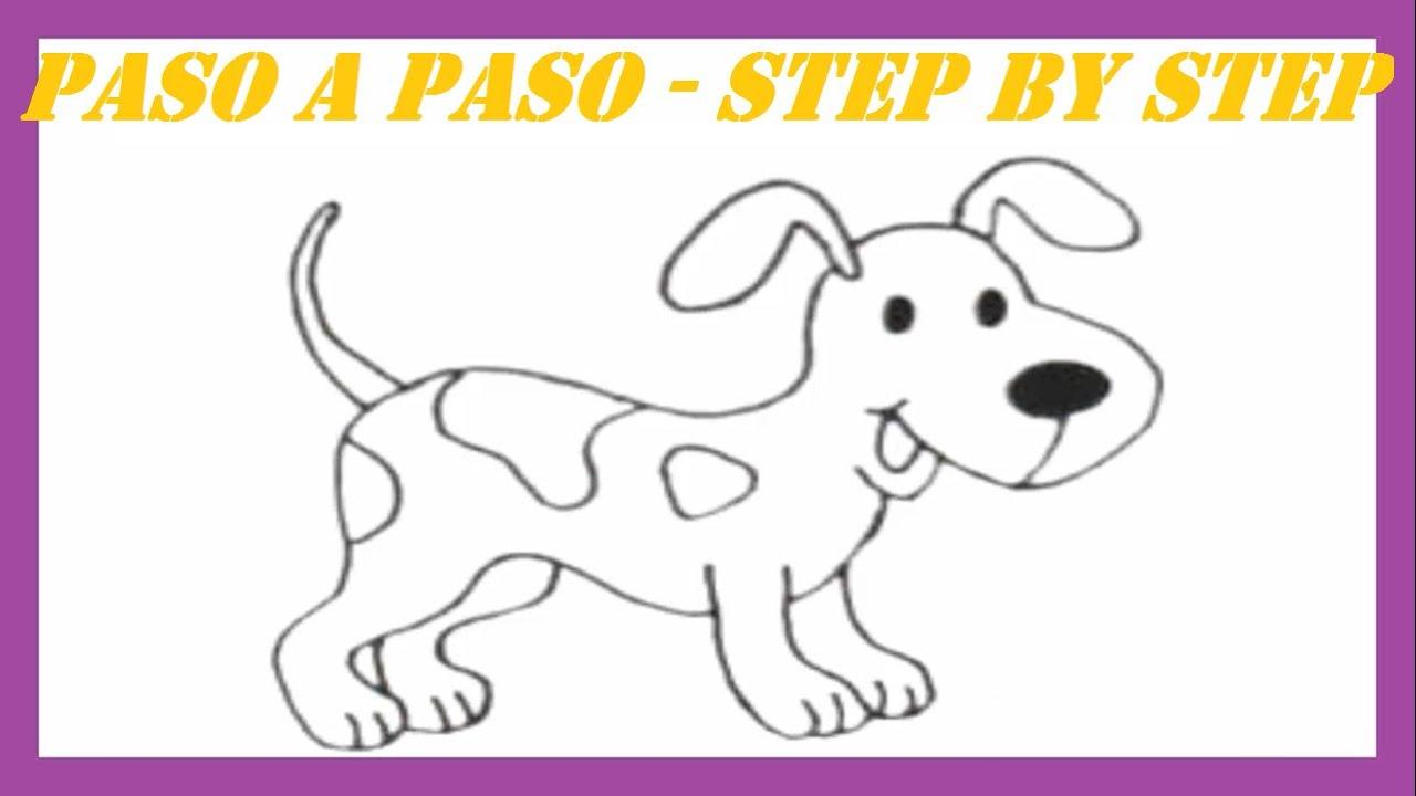 Como dibujar un Perro Dálmata l How to draw a Dog Dalmatian - YouTube