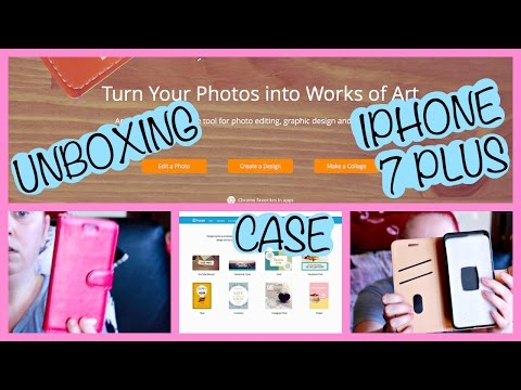 UNBOXING IPHONE 7 PLUS CASE/WEBSITE FOR ALL YOUR PHOTO & GRAPHIC DESIGN NEEDS!