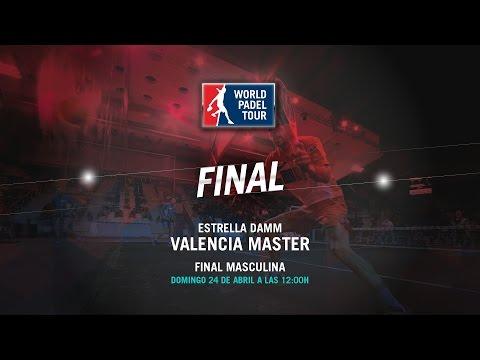 DIRECTO – Final masculina | Valencia Master World Padel Tour 2016