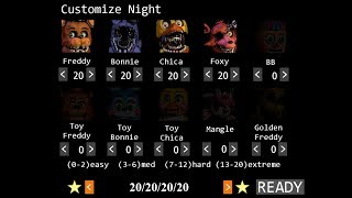 Five Nights at Freddy's 2 [20/20/20/20]