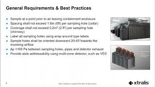VESDA for Containment Aisles Presenatation