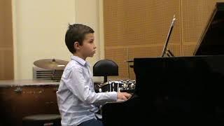 J.S. BACH - Invention à 2 voix n°1 BWV 772 - Adam RENARD 8 ans