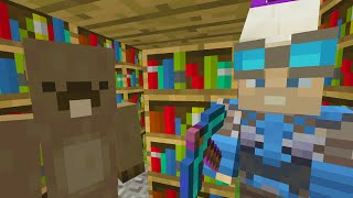 Minecraft Xbox - Survival Madness Adventures - The Library [384]