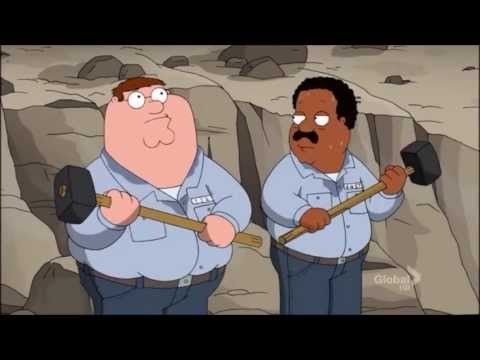Family Guy white guy work song