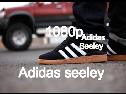 Adidas Seeley Black Gum brown Suede Gum (watch in 1080p) Skate Shoe  Review 3 - YouTube ded4d1859