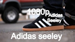 Adidas Seeley Black/Gum brown Suede/Gum (watch in 1080p) Skate Shoe Review#3