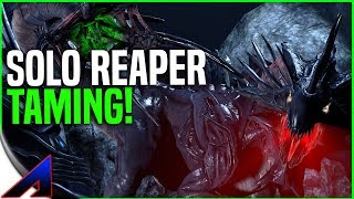 Solo Reaper Taming and Surface! - New Official Small Tribe PvP Servers | Ark Survival Evolved | Ep19