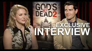 GODS NOT DEAD 2 Interviews, feat: Melissa Joan Hart & Jesse Metcalfe