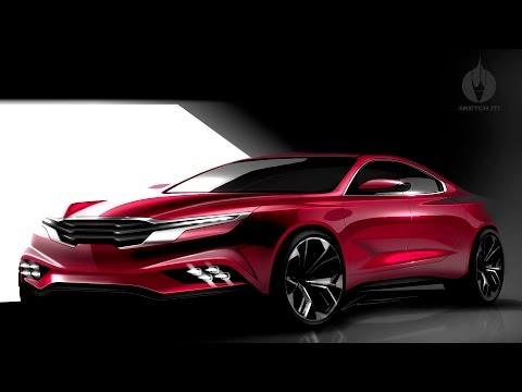 SKETCH-IT! #11 • Automotive Rendering