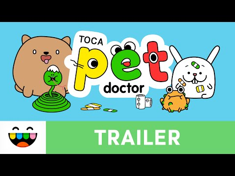 Help Our Animal Friends in Toca Pet Doctor | Gameplay Trailer | @TocaBoca