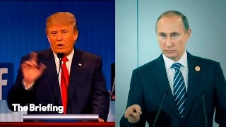 What is Donald Trump's connection to Vladimir Putin? | The Briefing thumbnail