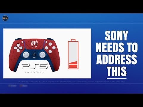 PLAYSTATION 5 ( PS5 ) - DUELSENSE , SONY NEEDS To ADDRESS THE BATTERY LIFE ISSUE !