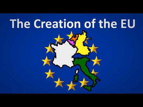 How was the EU founded?