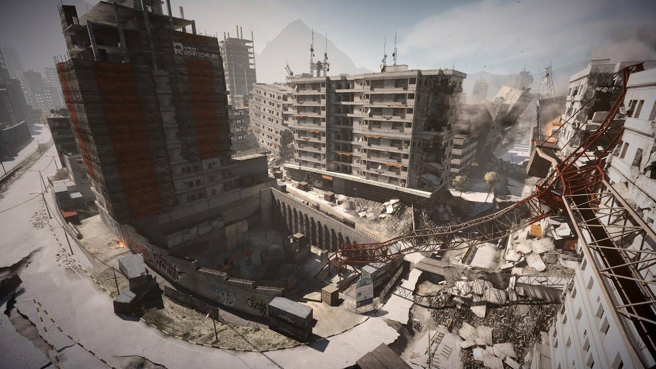 Battlefield 3 Aftermath: Epicenter Flythrough - Battlefield 3 Aftermath: Epicenter Flythrough