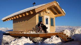 My Off Grid, Alaṡkan Log Cabin, Sauna Project - Part 2: Boardwalk and Stairs