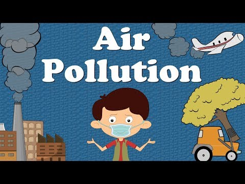 Air Pollution for Kids | #aumsum