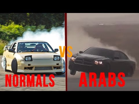 Arab Drivers vs Rest of the WORLD Drivers(Part 2)| Fail and Win Compilation