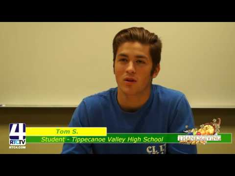 TVSC Thankful 2016 -  Tippecanoe Valley High School