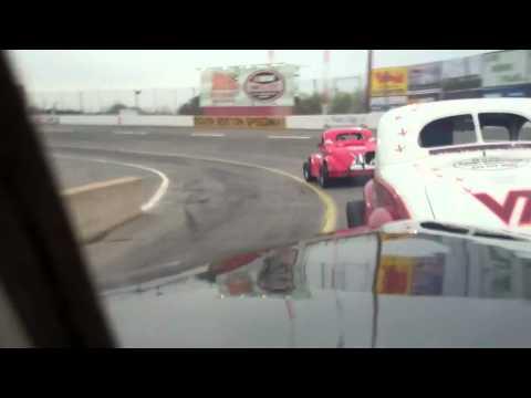 Legendary Flathead Ford Race at South Boston - Bill Blair's