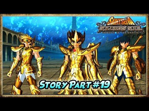 LAST BATTLE: Sagitarius SEIYA VS Poseidon - Saint Seiya: Soldiers' Soul [PART #19]
