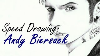 Speed Drawing: Andy Biersack | Black Veil Brides